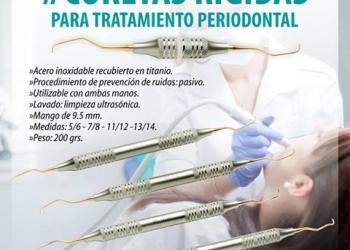 Curetas Rígidas para tratamiento periodontal